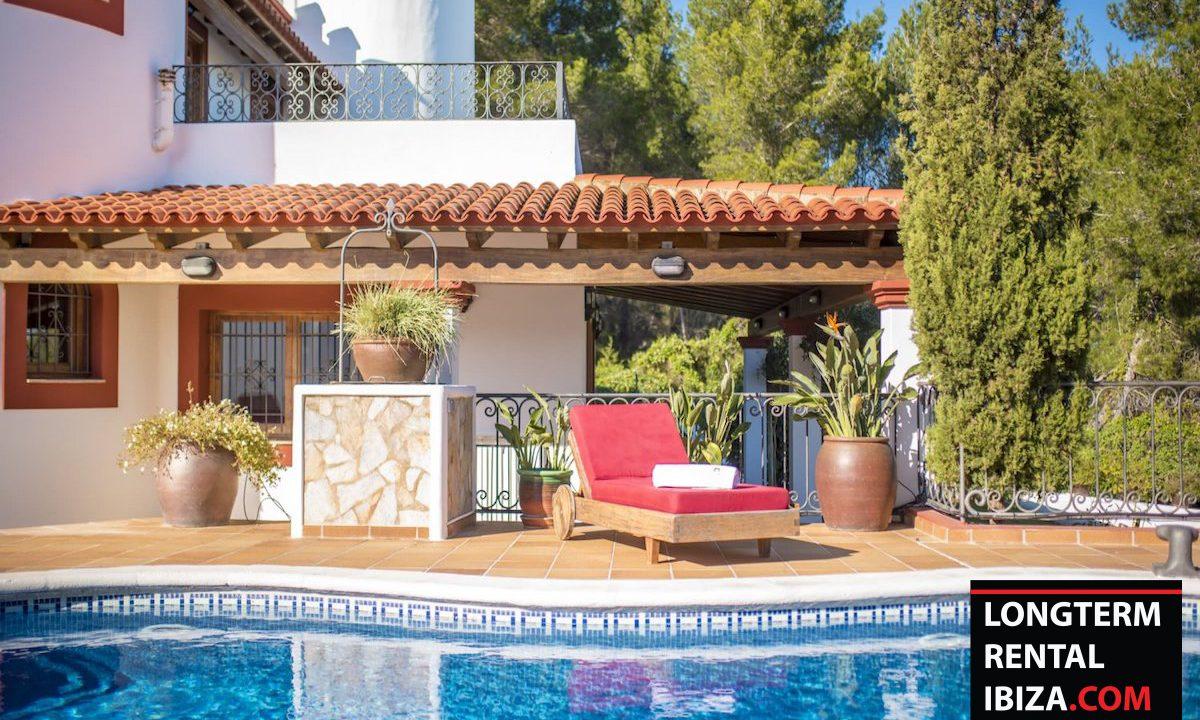Long term rental Ibiza - Villa Castel 36