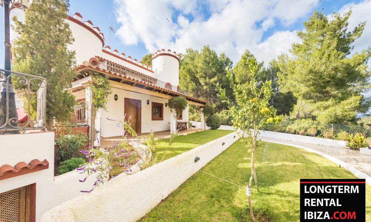 Long term rental Ibiza - Villa Castel 38