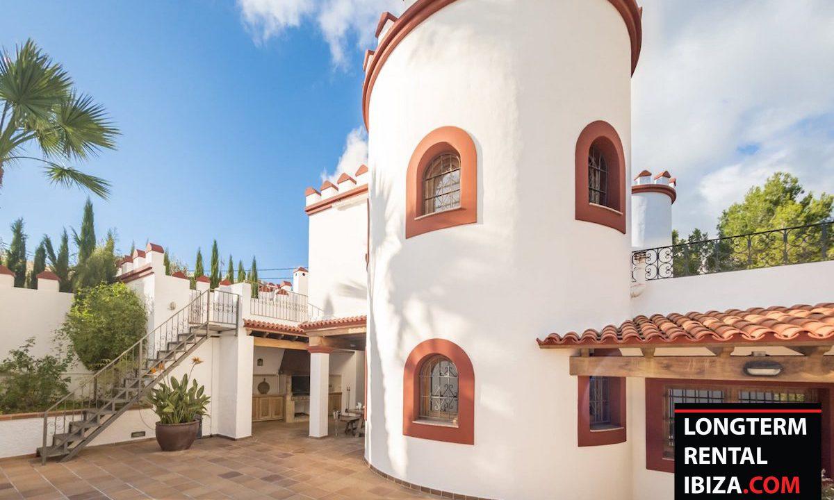 Long term rental Ibiza - Villa Castel 40