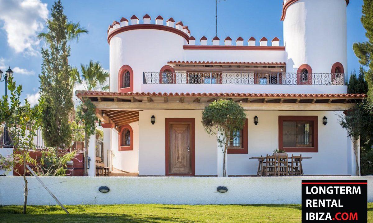 Long term rental Ibiza - Villa Castel 41