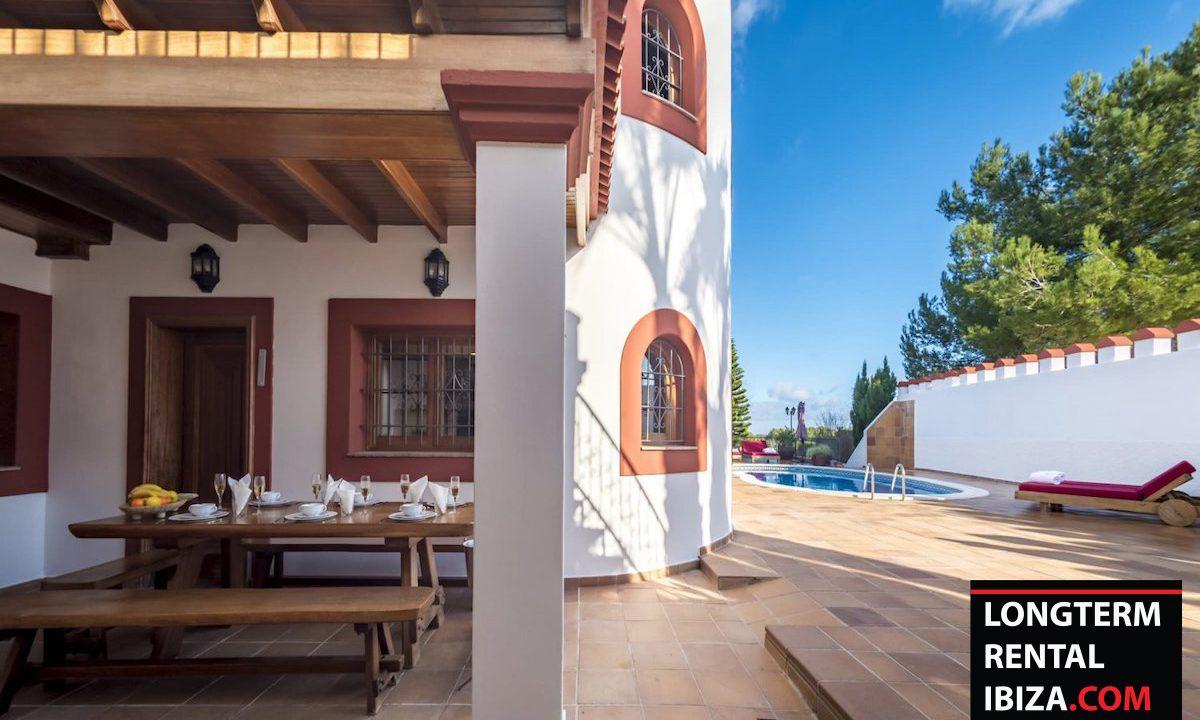 Long term rental Ibiza - Villa Castel 42