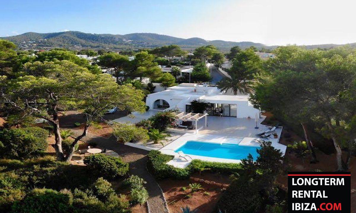 Long term rental Ibiza - Villa Sea 1