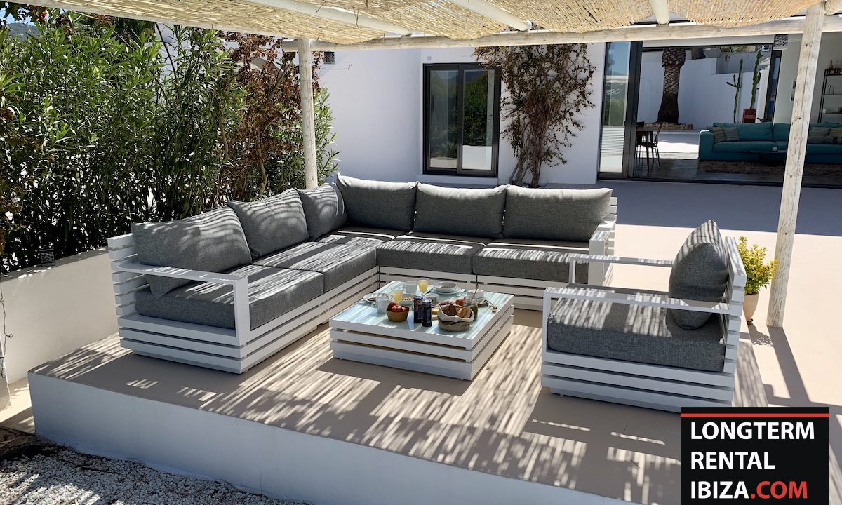 Long term rental Ibiza - Villa Sea 11