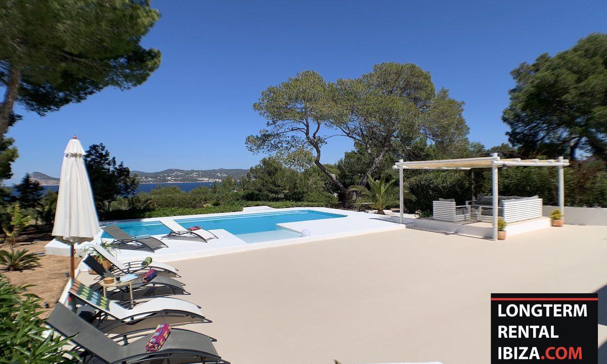 Long term rental Ibiza - Villa Sea 12