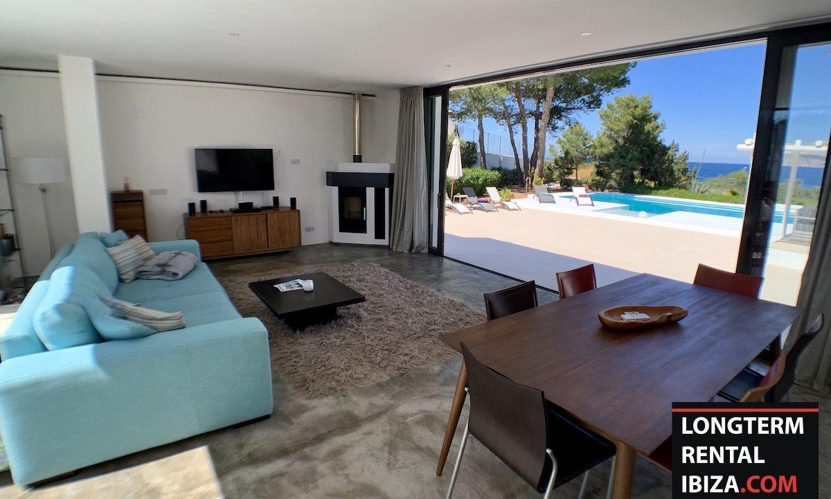 Long term rental Ibiza - Villa Sea 13
