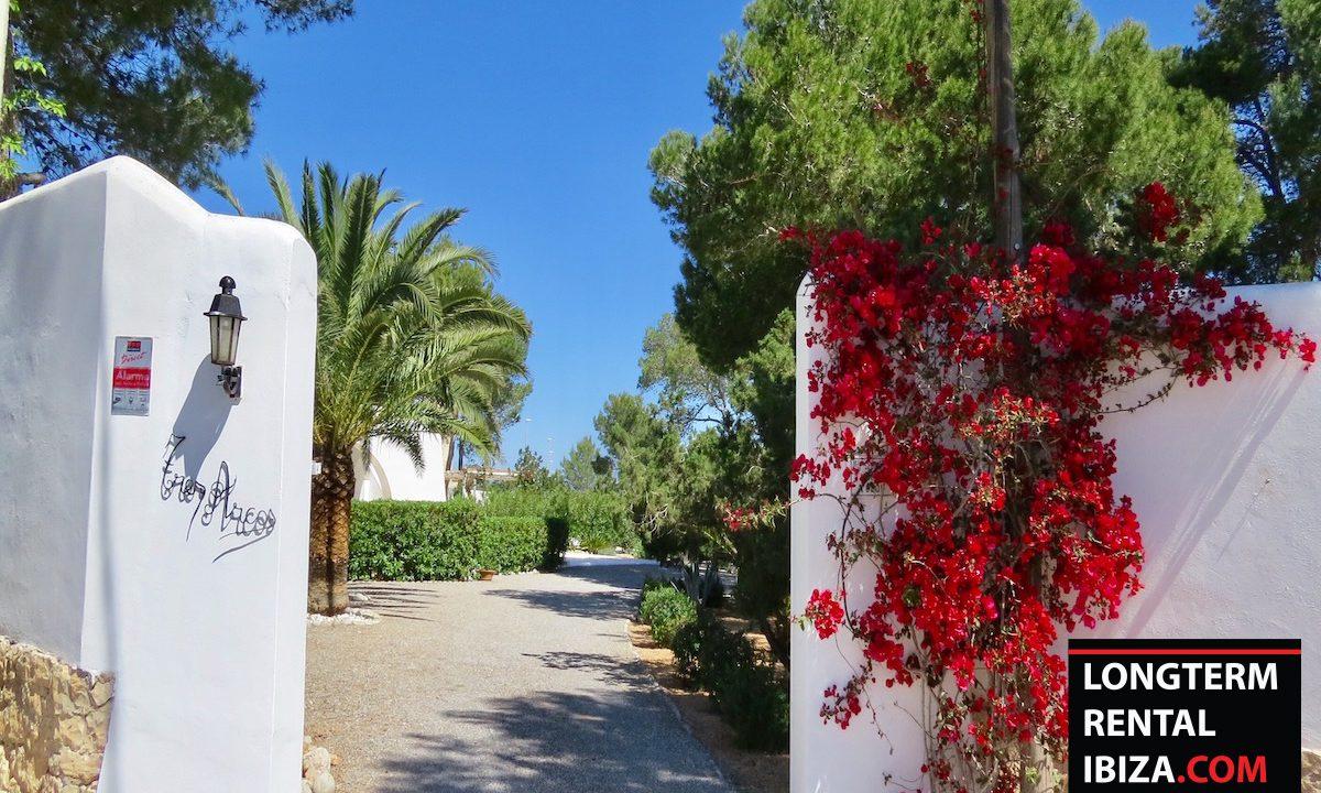 Long term rental Ibiza - Villa Sea 24
