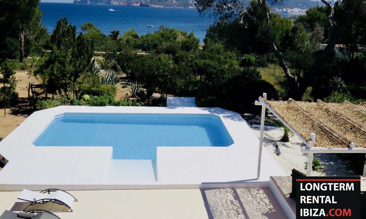 Long term rental Ibiza - Villa Sea 27