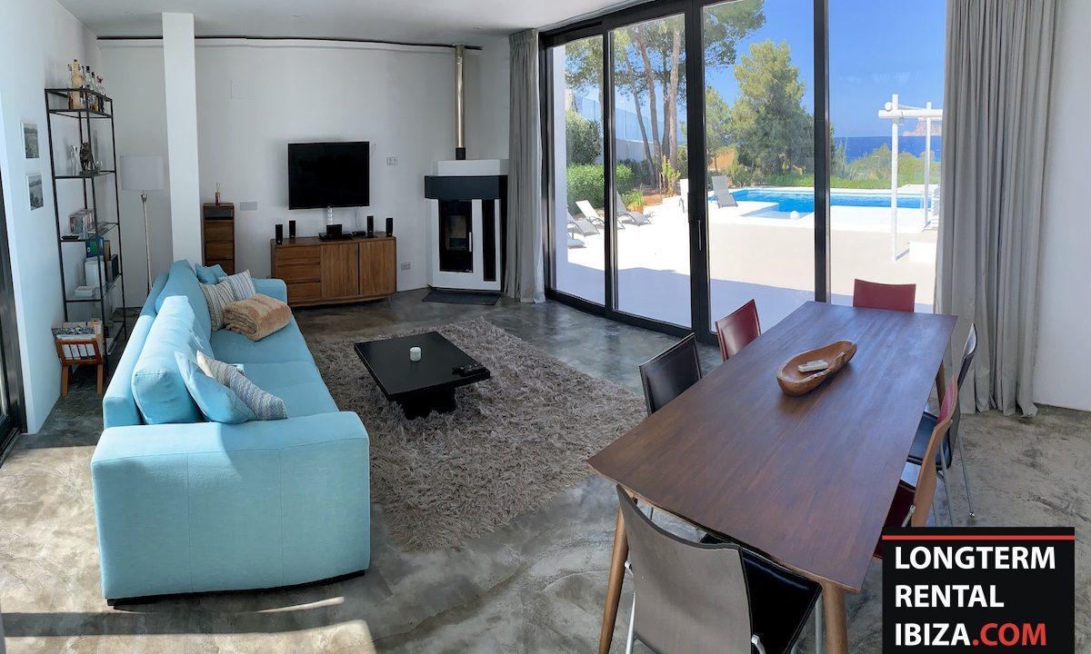 Long term rental Ibiza - Villa Sea 3