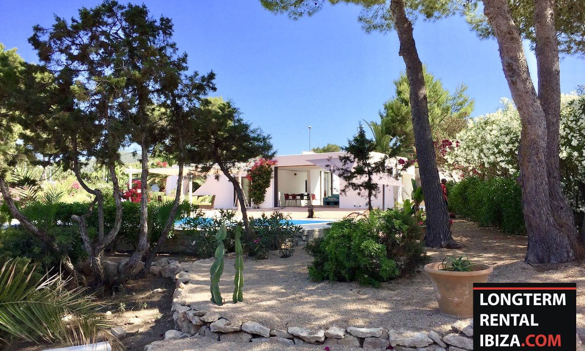 Long term rental Ibiza - Villa Sea 4