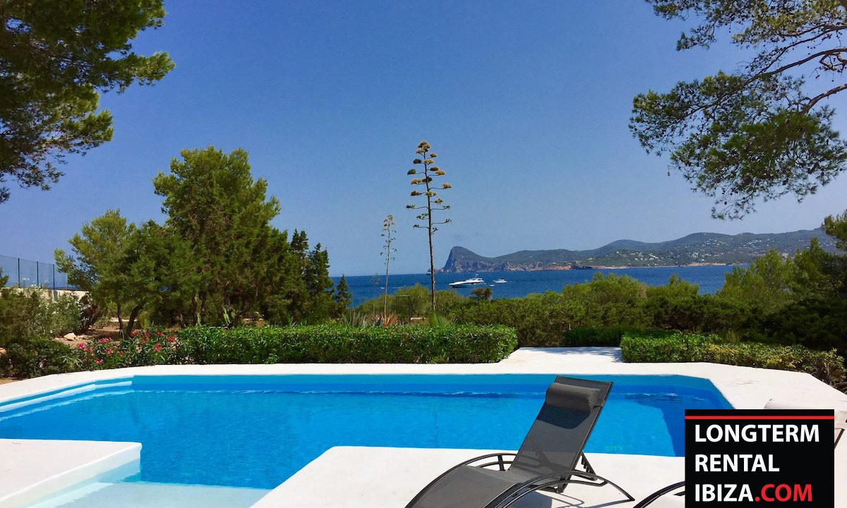 Long term rental Ibiza - Villa Sea