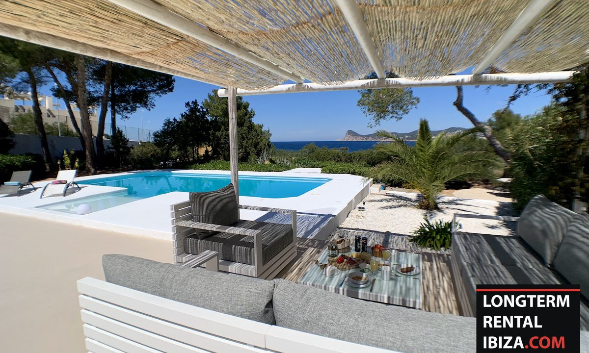 Long term rental Ibiza - Villa Sea 8