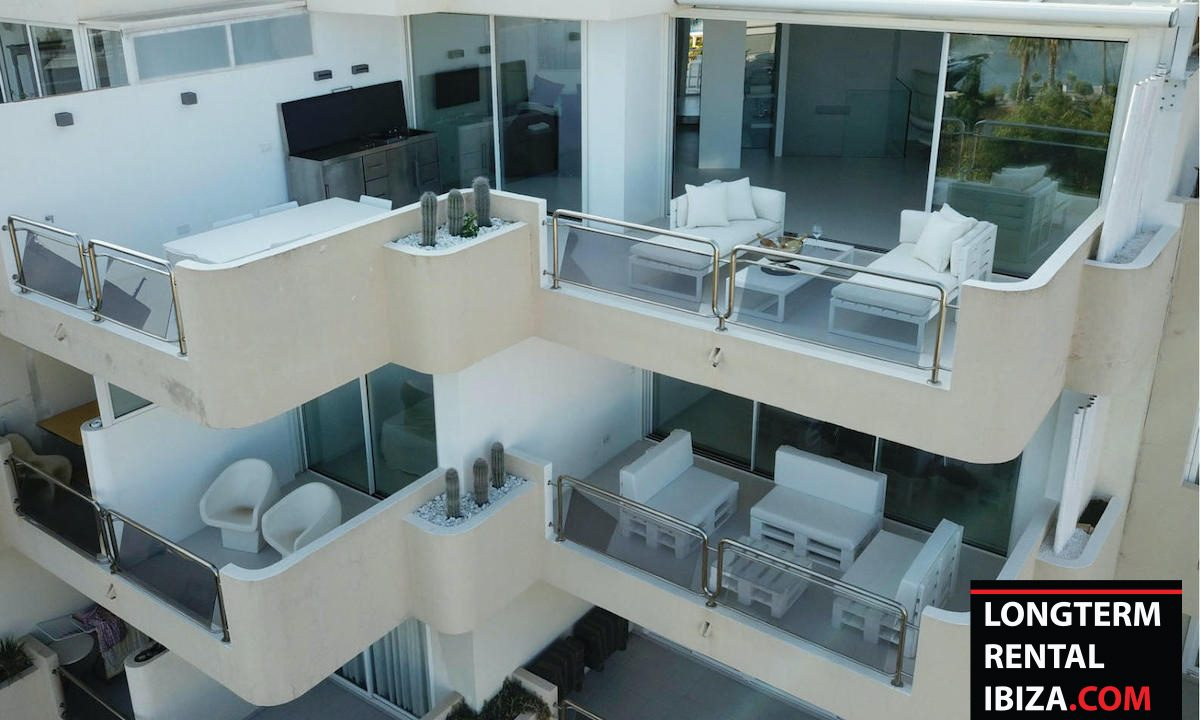 Long term rental Ibzia - Penthouse White dream 1