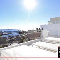 Long term rental Ibzia - Penthouse White dream