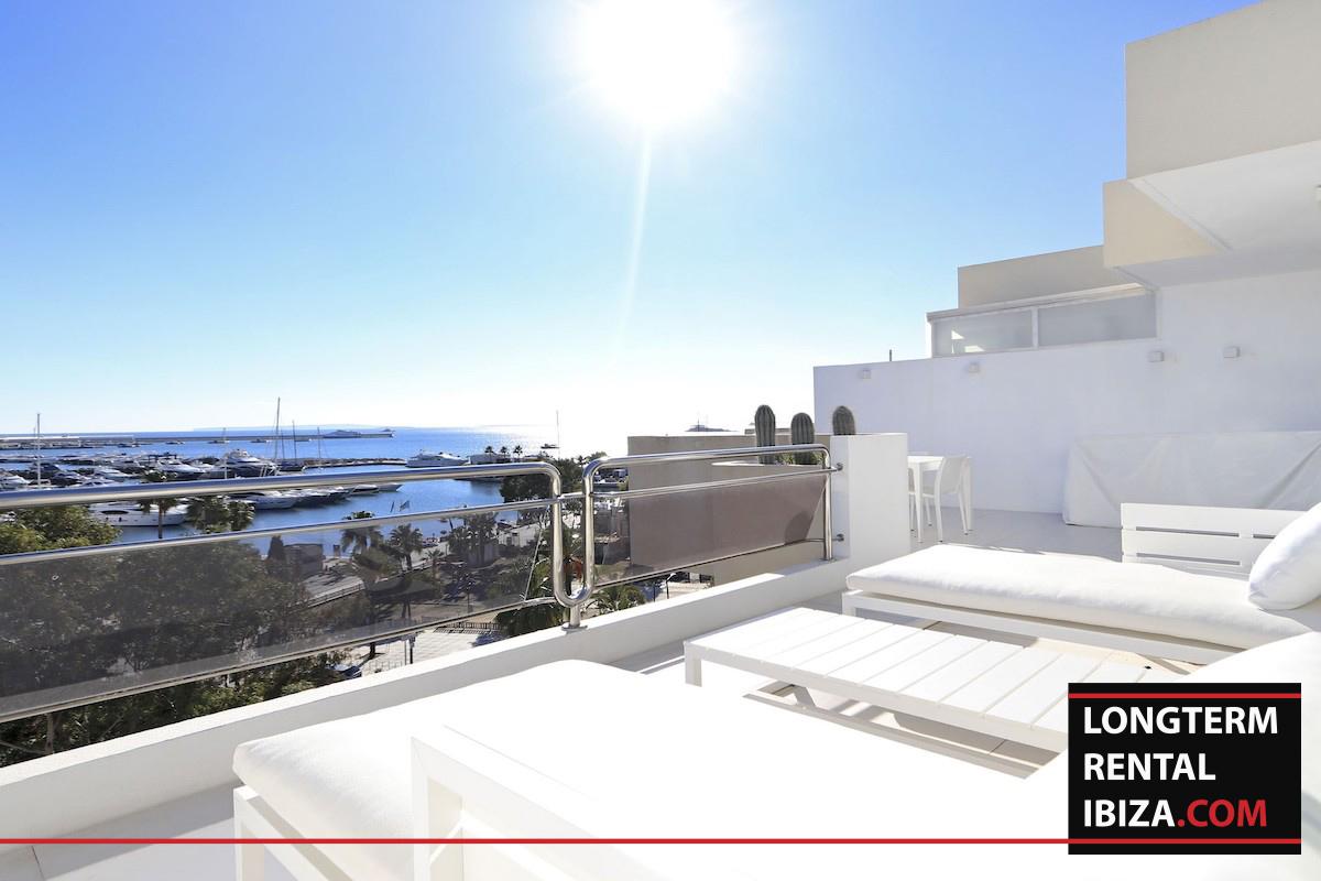 Long term rental Ibzia – Penthouse White dream