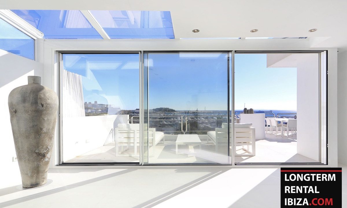 Long term rental Ibzia - Penthouse White dream 2