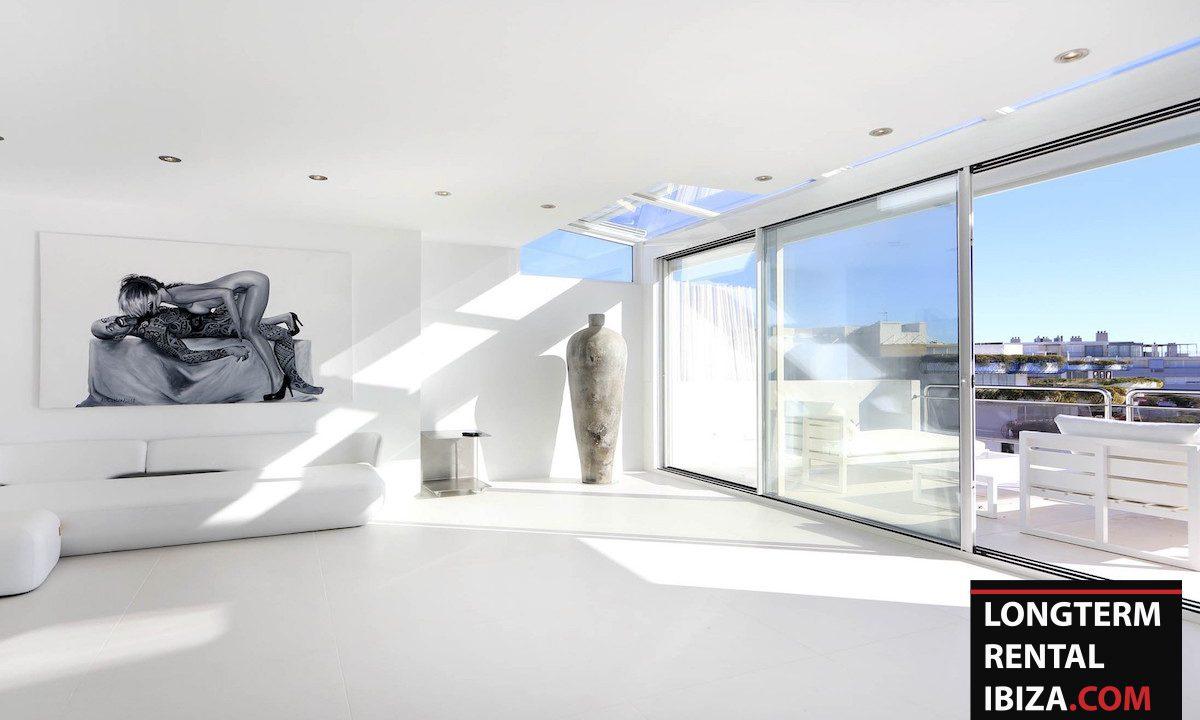 Long term rental Ibzia - Penthouse White dream 4