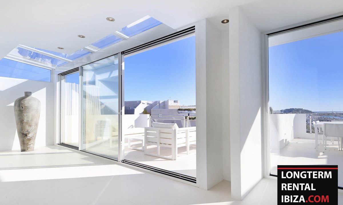 Long term rental Ibzia - Penthouse White dream 5