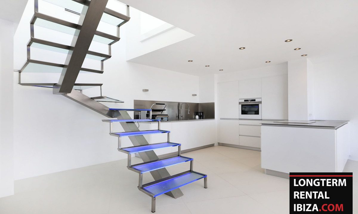 Long term rental Ibzia - Penthouse White dream 8