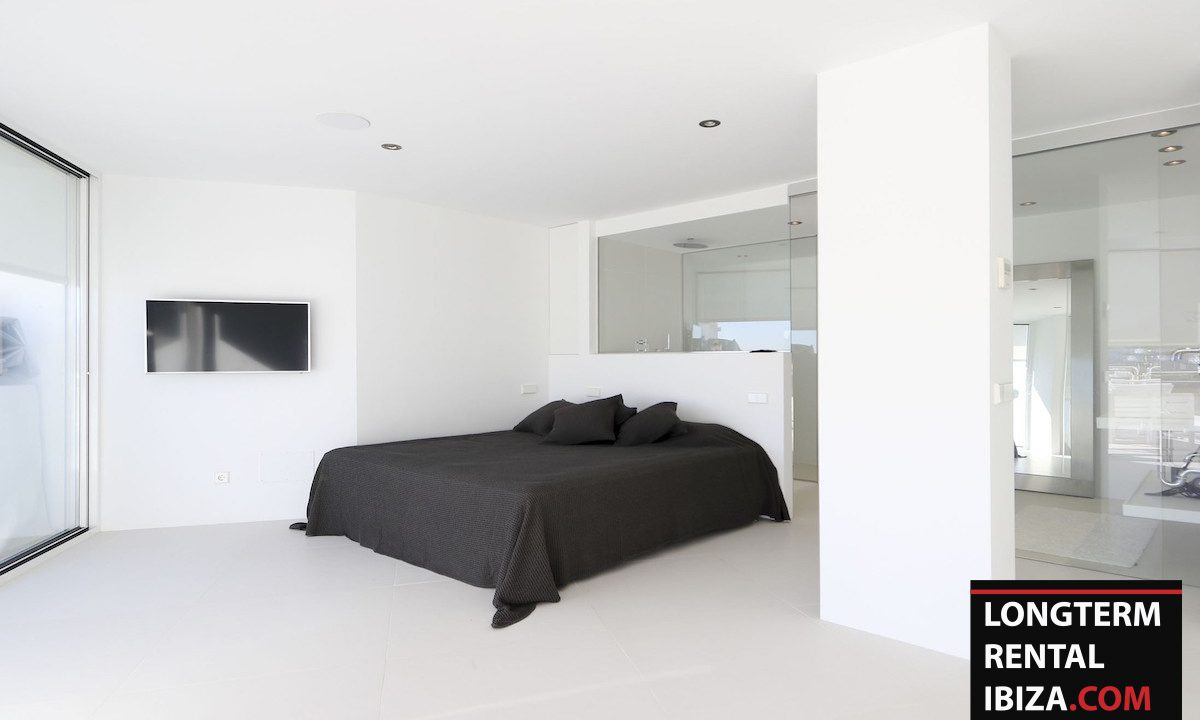 Long term rental Ibzia - Penthouse White dream 9