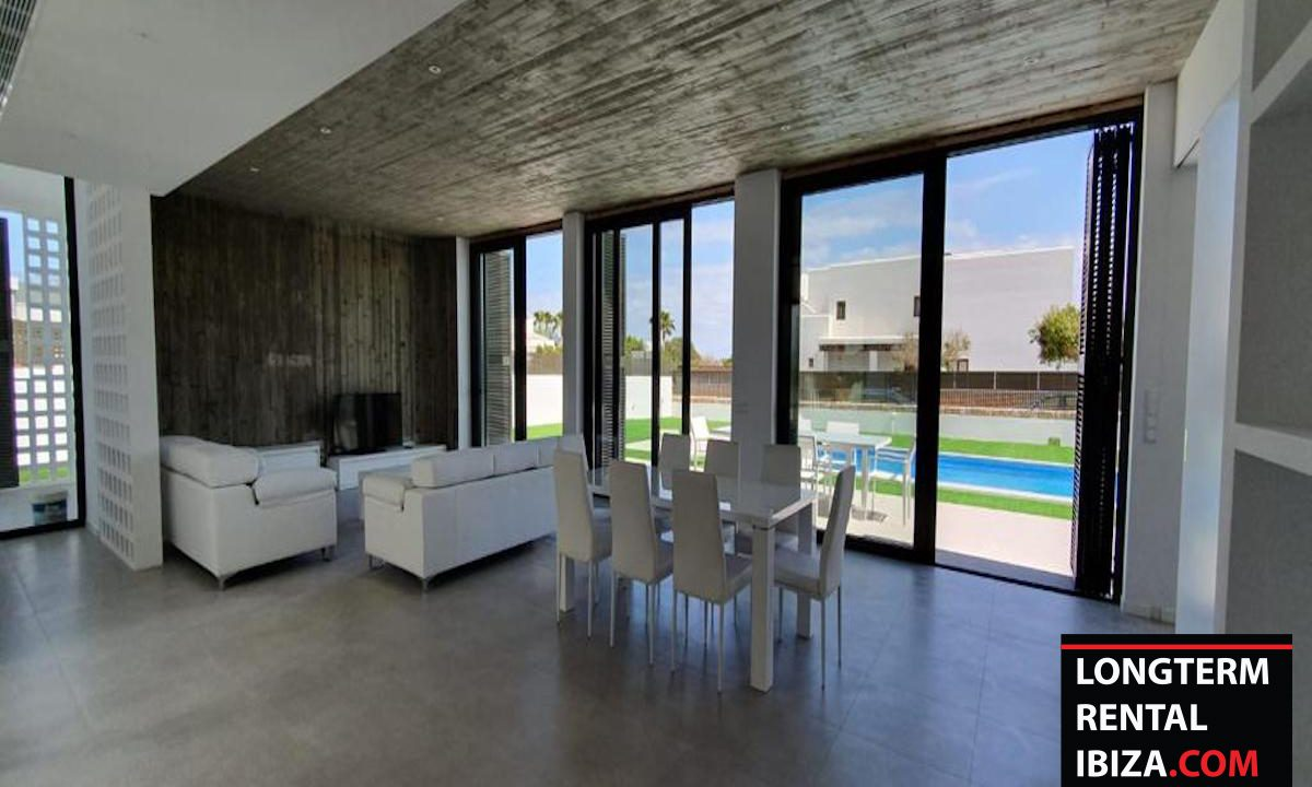 Long term rental Ibzia -villa Abstracta 9