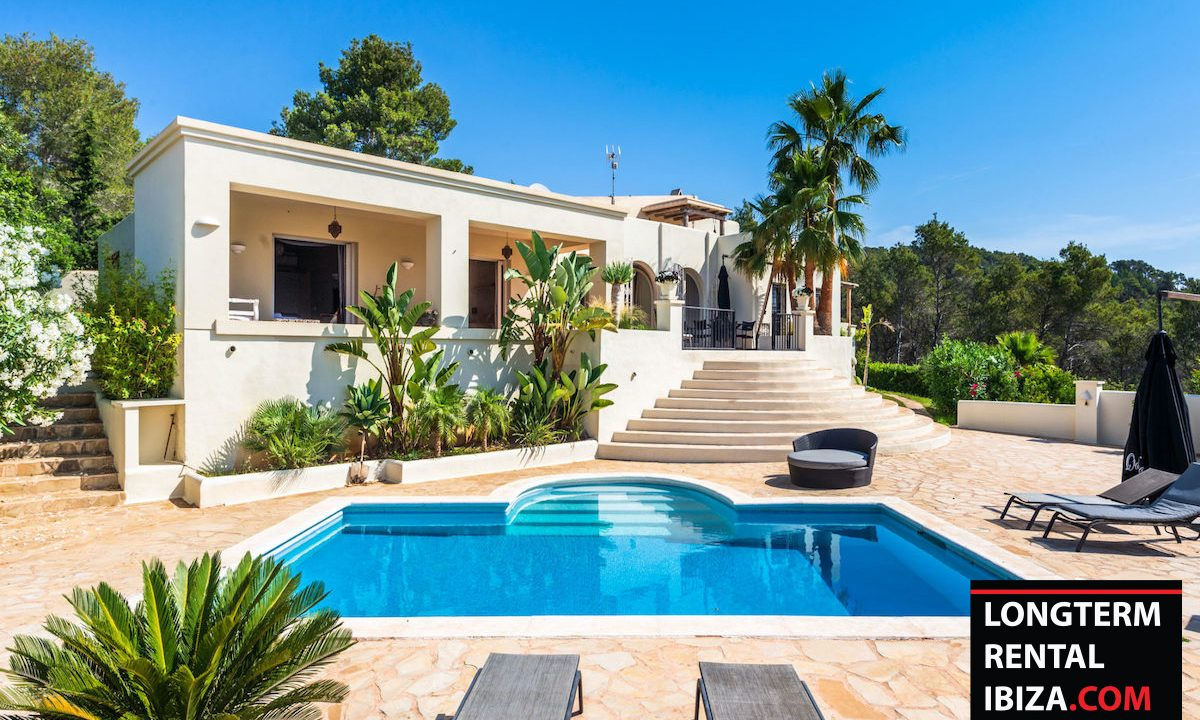 Long term rental Ibiza - Villa Colina