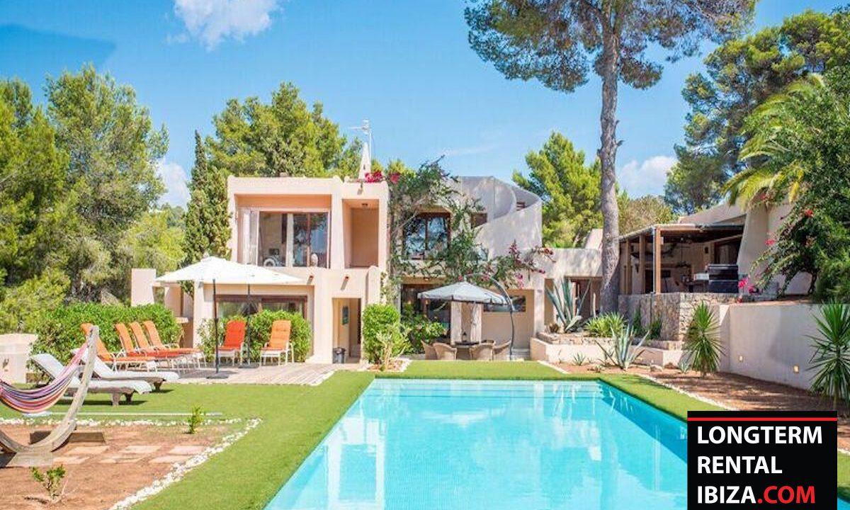 Long term rental Ibiza - Villa Colina