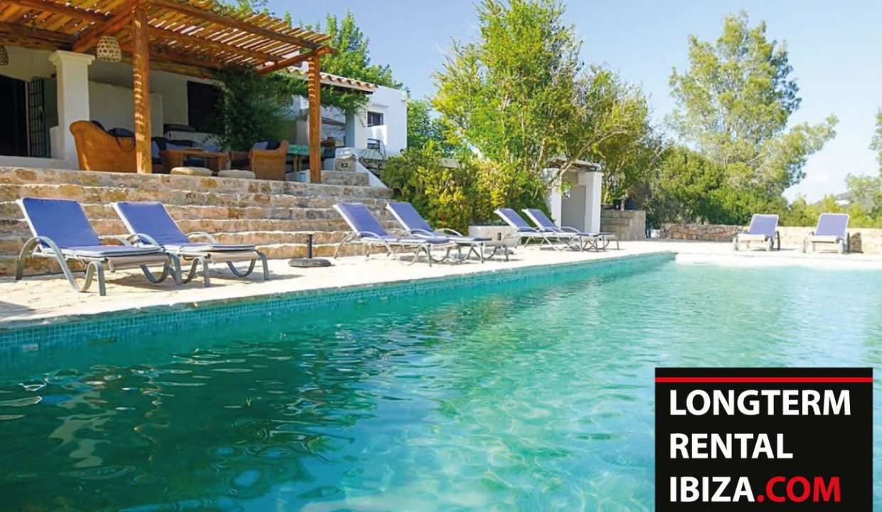 Long term rental Ibiza - Finca Montana