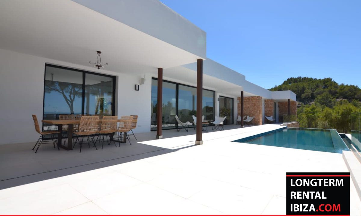 Long term rental Ibiza - Villa Freeview