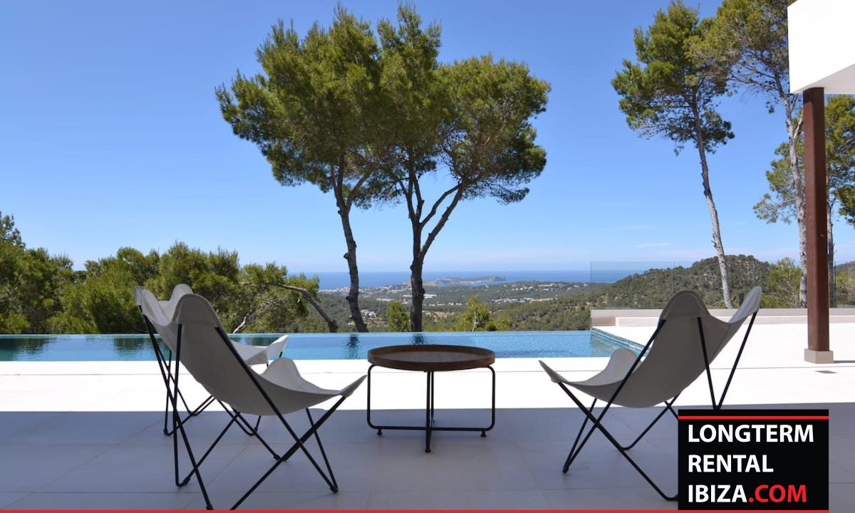 Long term rental Ibiza - Villa Freeview 2