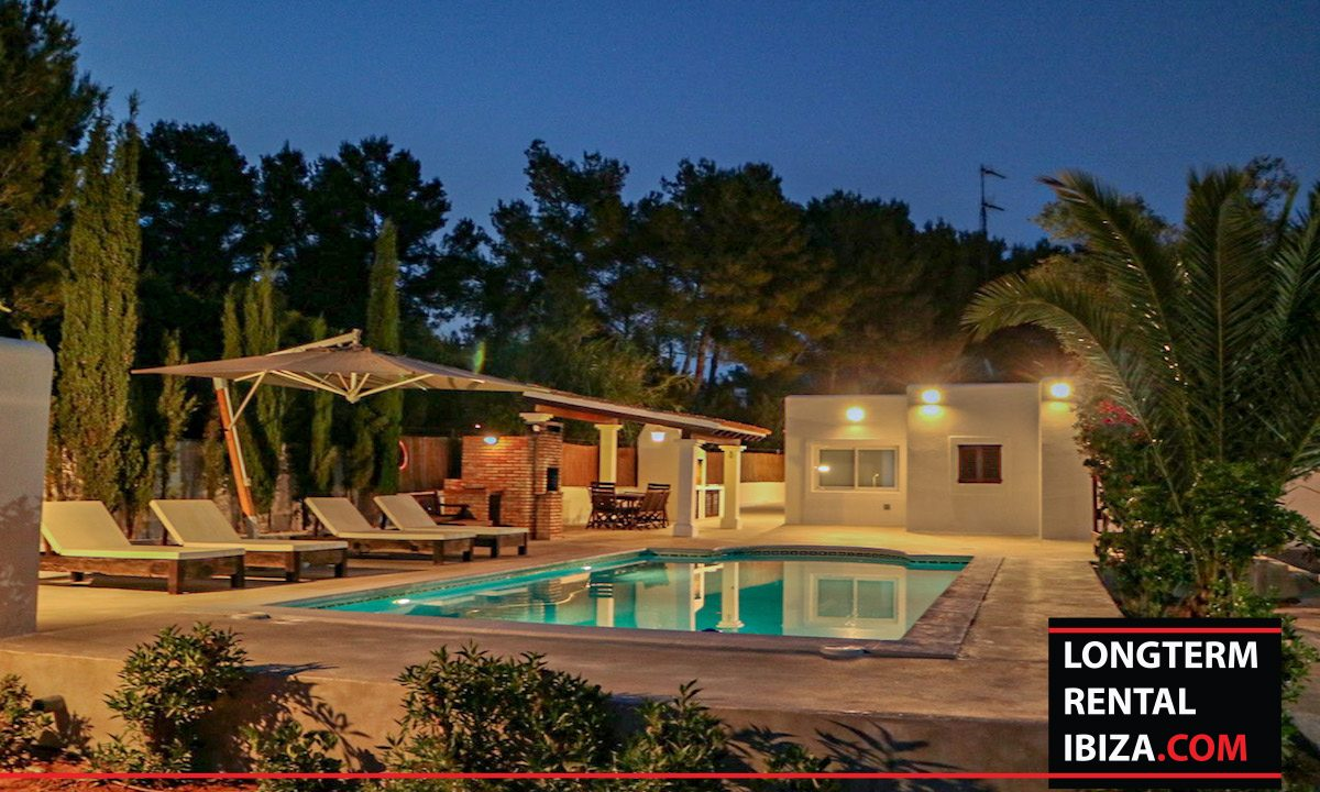 Long term rental Ibiza - Villa Pista