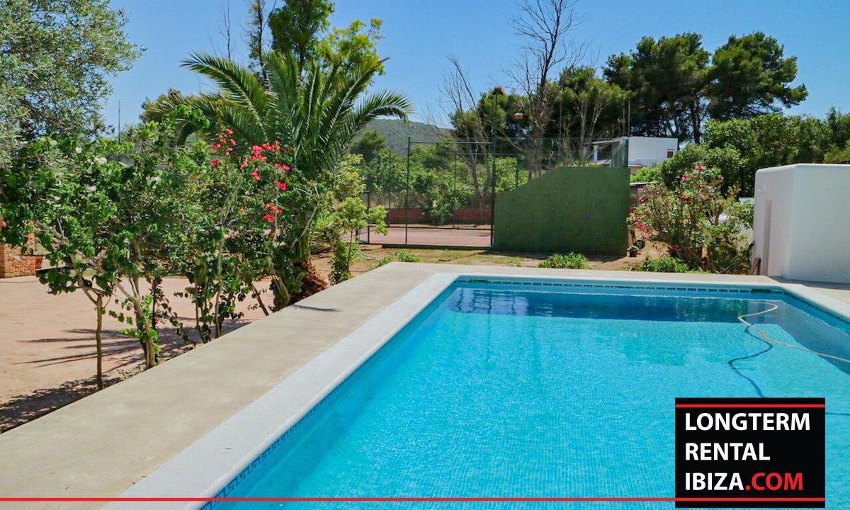 Long term rental Ibiza - Villa Pista 1
