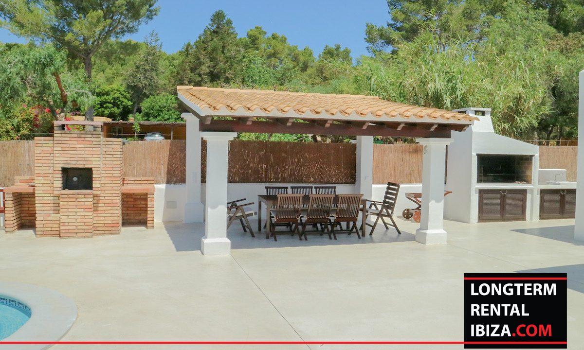 Long term rental Ibiza - Villa Pista 16