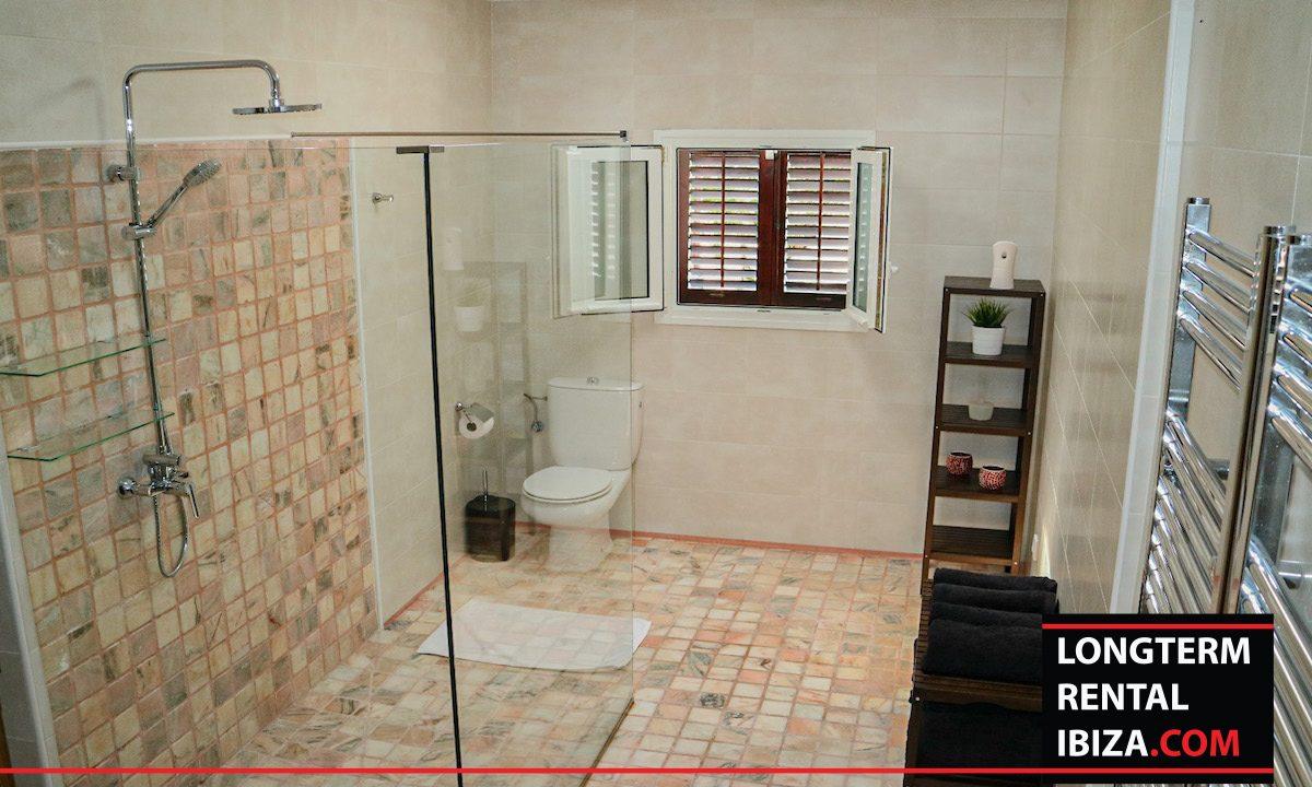 Long term rental Ibiza - Villa Pista 17