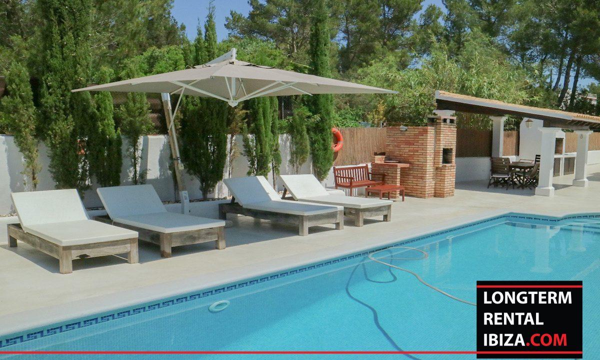 Long term rental Ibiza - Villa Pista 23