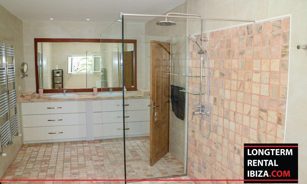 Long term rental Ibiza - Villa Pista 25