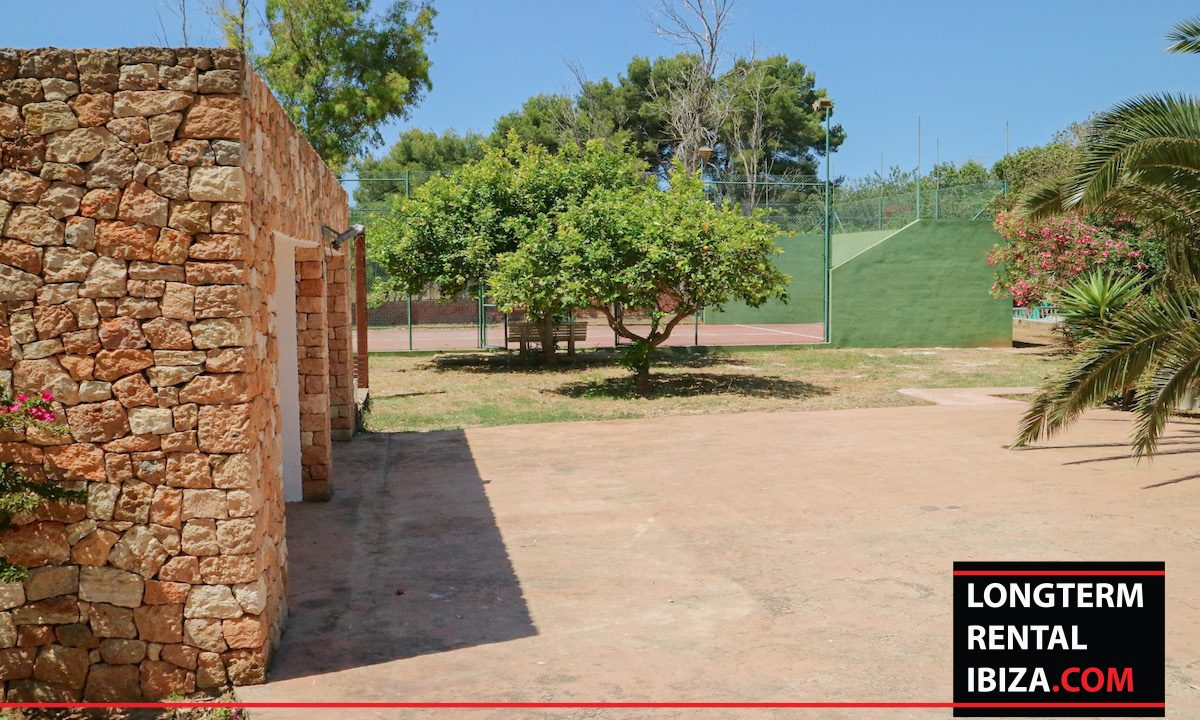 Long term rental Ibiza - Villa Pista 29