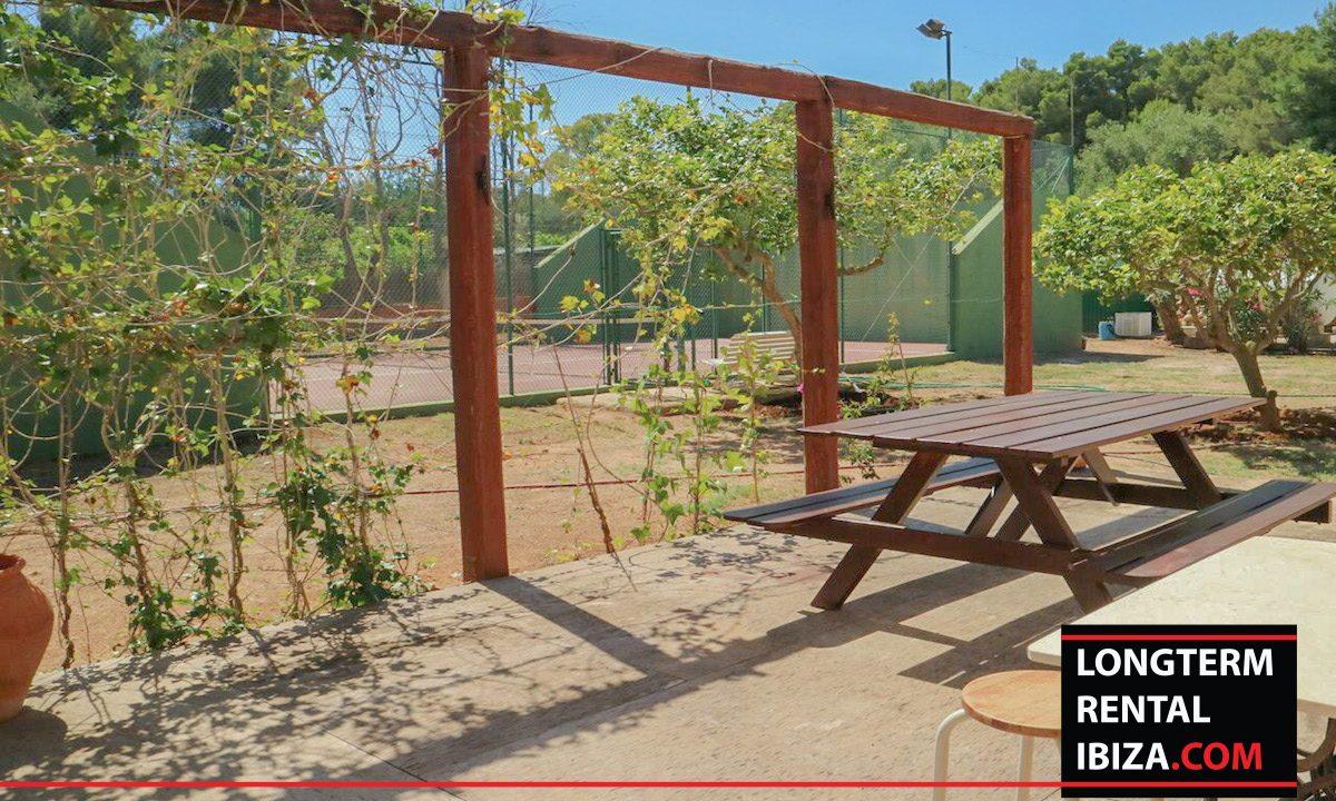Long term rental Ibiza - Villa Pista 8