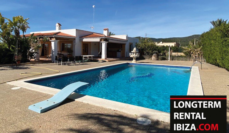 Long term rental Ibiza - Villa l'école 1