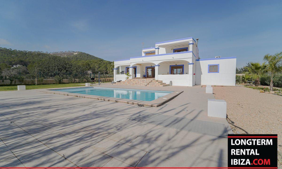Long term rental ibiza - Villa Es Codolar