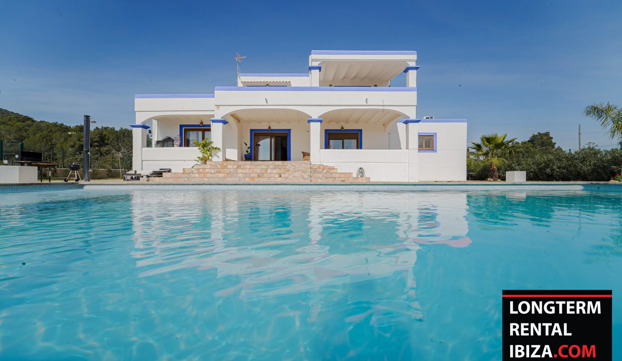 Long term rental ibiza - Villa Es Codolar
