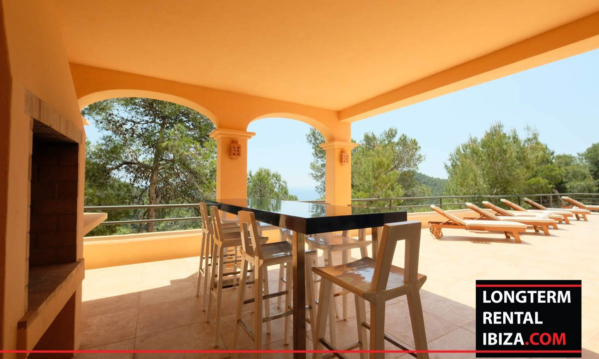 Long term rental Ibiza - Mansion Cape Longa 12