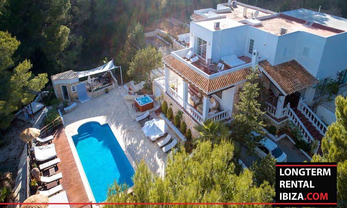 Long term rental Ibiza - Mansion Falco 24