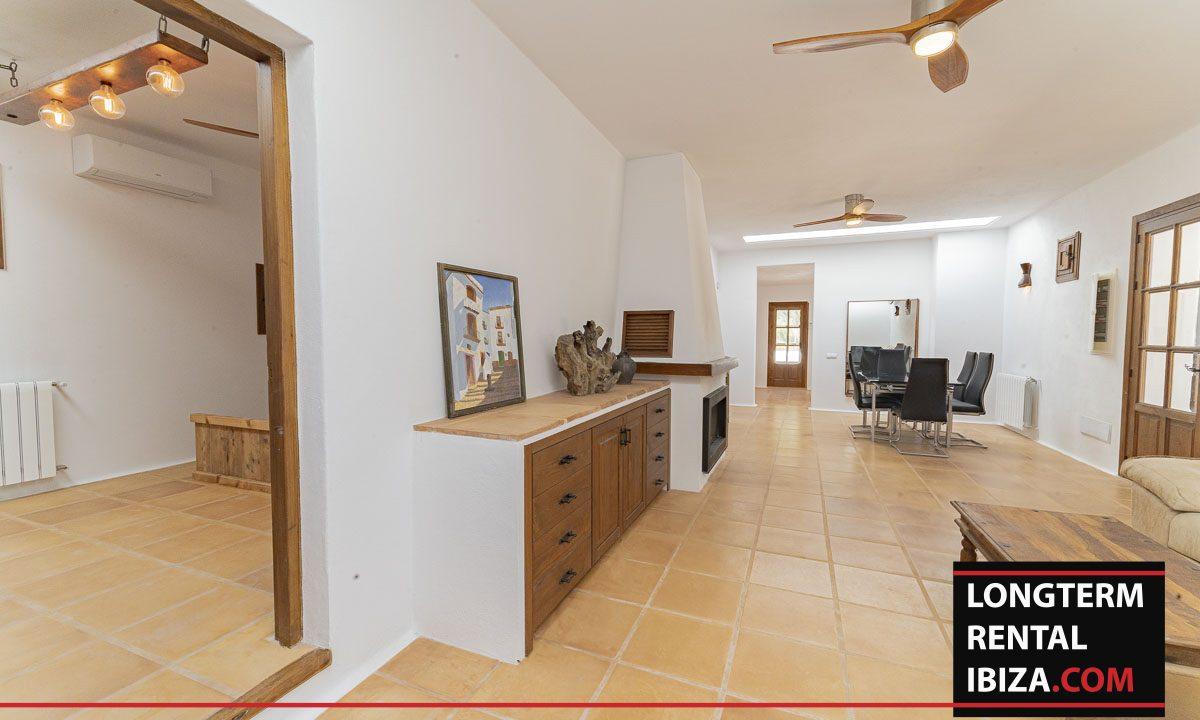 Long term rental ibiza - Finca Valley 15
