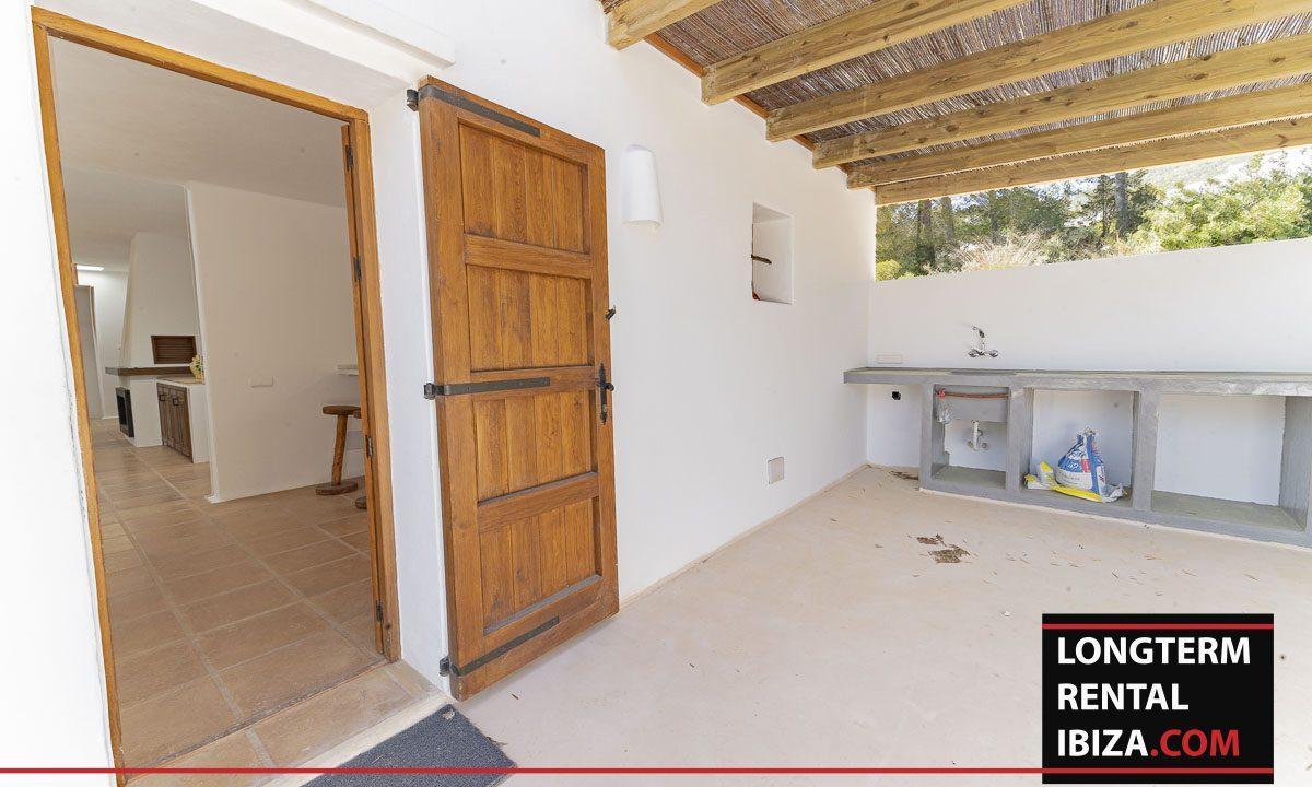 Long term rental ibiza - Finca Valley 16