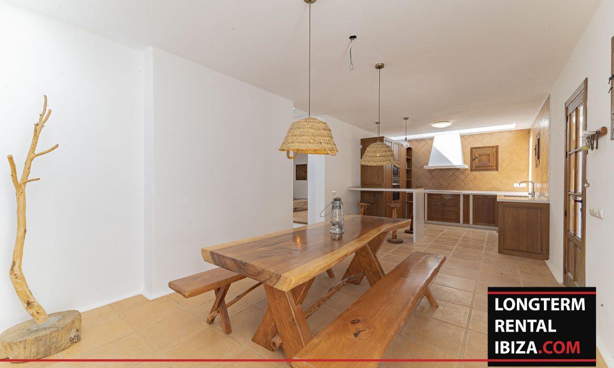 Long term rental ibiza - Finca Valley 24