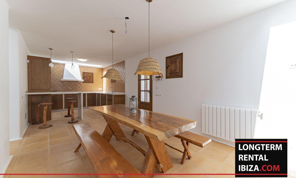 Long term rental ibiza - Finca Valley 40
