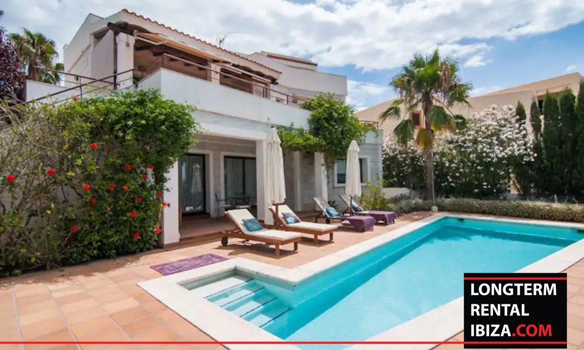 Long term rental ibiza - Villa Vista Talamanca