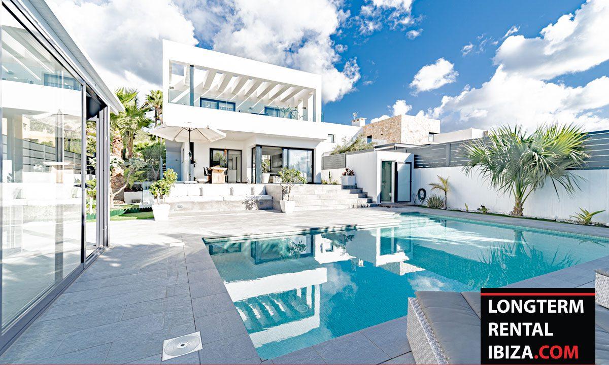 Long term rental Ibiza - Villa Burgon