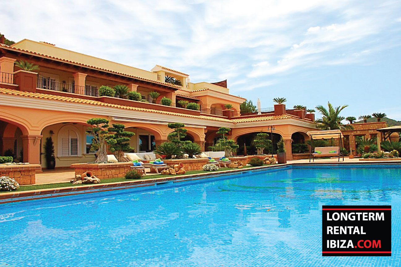 Long term rental ibiza exclusive masion