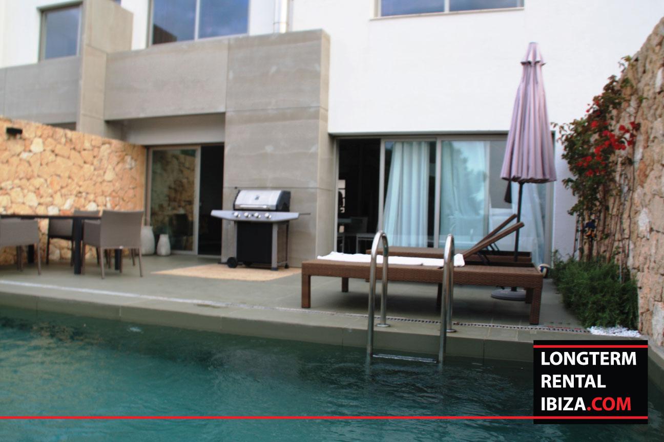 Long term rental Ibiza Villa Golfview